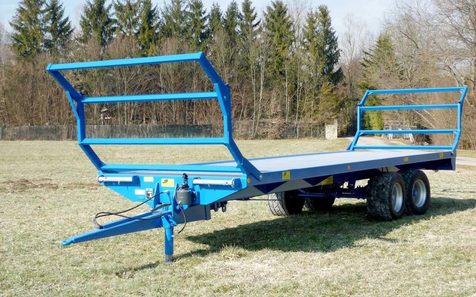 Plateau fourrager semi porté 1 et 2 essieux (A2)