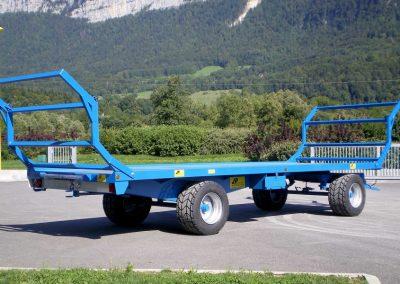 Plateau fourrager trainé 2 essieux (A3-1)