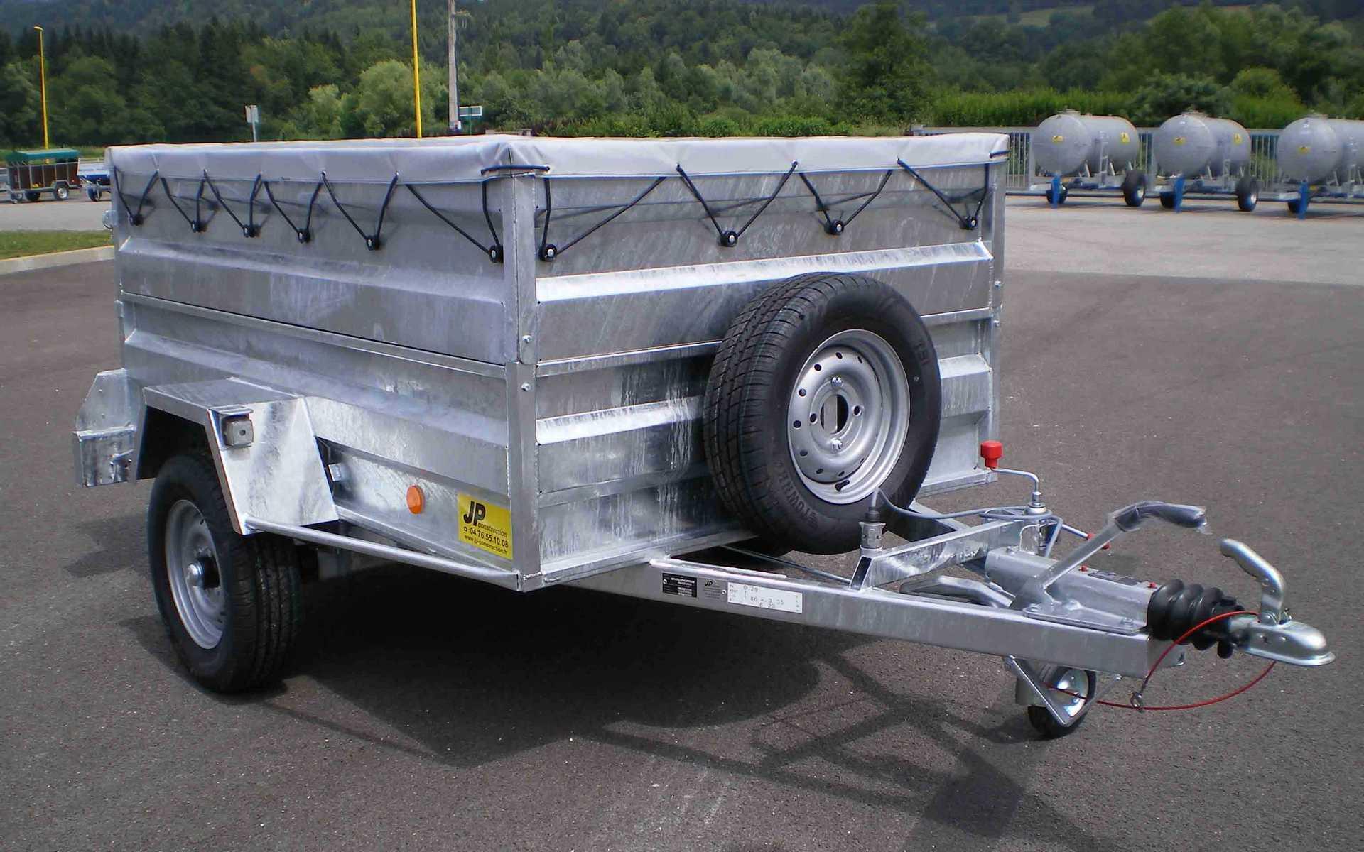 Bétaillère Tole double essieux
